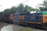 CSX 6158, 4372 on local C770.